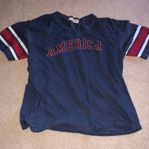 Oversized American Sports Jersey